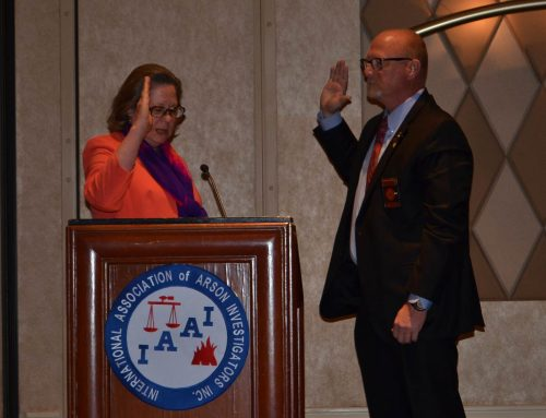 Scott Bennett sworn in as President of IAAI